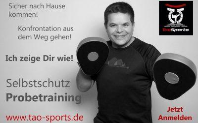 Probetraining bei Tao Sports:  Krav Maga – Urban – Combatives in München