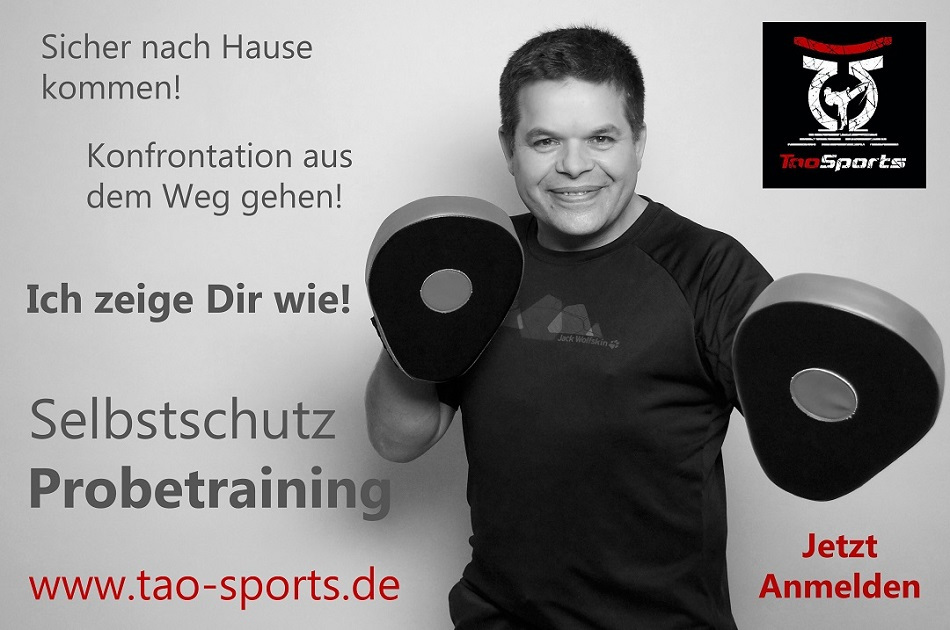 Probetraining bei Tao Sports:  Krav Maga – Urban – Combatives in München