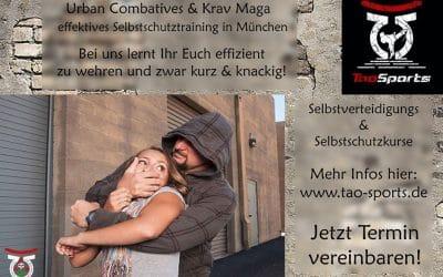 Urban Combatives und Krav Maga – effektives Selbstschutztraining in München