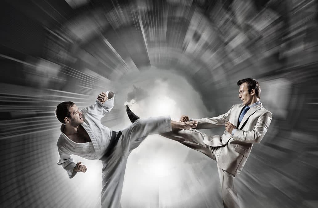 Die klassische Kampfkunst und das Selbstverteidigungssystem Krav Maga