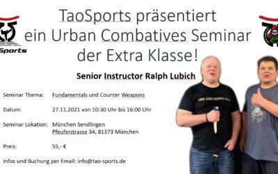 Urban Combatives Seminar der Extra Klasse mit Ralph Lubich in München